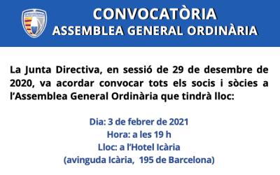 Convocatòria assemblea general ordinària