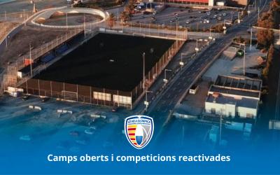 Camps oberts i competicions reactivades